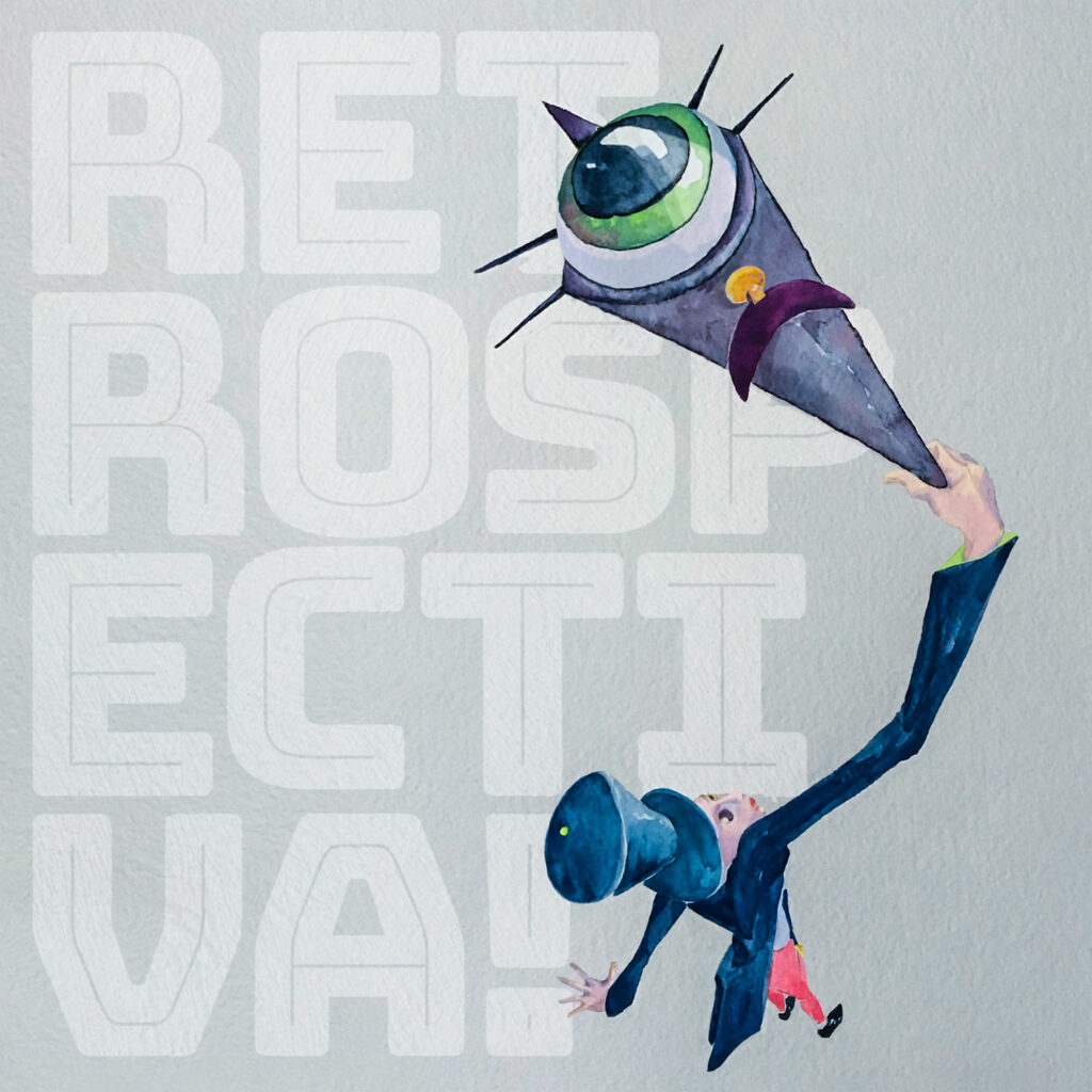 Retropectiva! album cover by Sophie Cooke